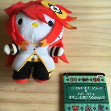 Hello Kitty × Tales of the Abyss Luke fone Fabre Plush Toy Mascot
