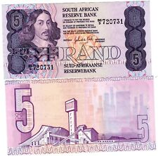 AFRIQUE DU SUD / SOUTH AFRICA Billet 5 RAND ND ( 1981 - 1984 ) P119 BON ETAT