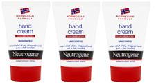 Tres Neutrogena Sin perfume Crema de mano 50 ML-alivio para las manos secas