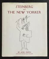 STEINBERG AT THE NEW YORKER - 1ST ED. - UNCLIPPED DJ - APPEARS UNREAD.