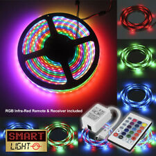 RGB LED 5M-10M Strip Light Tape XMAS Cabinet Kitchen Ceiling WATERPROOF 5050 12V