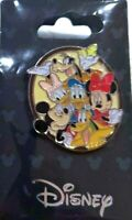 NEW Disney Mickey & Gang Minnie Mouse Goofy Donald Duck Pluto Daisy Trading Pin