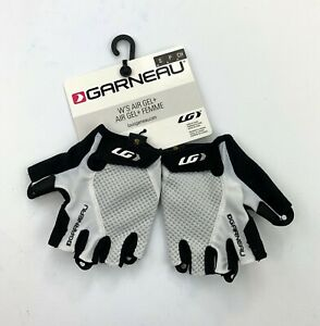 Louis Garneau Women's Air Gel + Cycling Gloves White Size Small New
