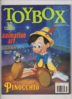 Toybox Magazine Pinocchio Animation Art Fall 1993 102319nonr