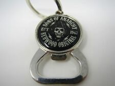 Collectible Keychain Charm: Sons of Anarchy Redwood Original Skull