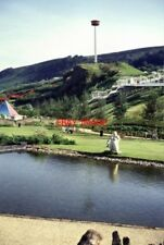 PHOTO  1992 NATIONAL GARDEN FESTIVAL EBBW VALE. THE VIEWING PLATFORM IS VERY NEA