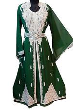 KAFTAN FARASHA JILBAB FANCY JILBAB ARABIAN DUBAI ABAYA WEDDING GOWN DRESS 101