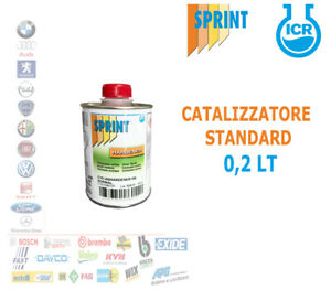 CATALIZZATORE HS STANDARD C15 SMALTO TRASPARENTE FONDO ACRILICO AUTO 200 ML