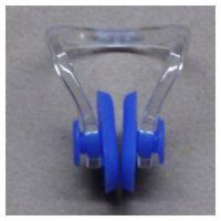 2 pzs Pinza de nariz de natacion de plastico de goma C de nariz elevacion d U1R5