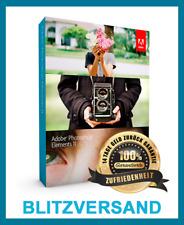 Adobe Photoshop Elements 11 ✓ VOLLVERSION ✓ BLITZVERSAND