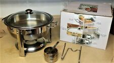 2000 Seville Classics Chafing Dish Commercial 4 Quart Model 14009 used in box