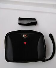 Swiss Gear by Wenger Medium Black/Gray Camera Case w/ Wrist Strap Belt Loop F16
