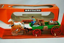 BRITAINS 7617 WILD WEST Detailed BUCKBOARD WAGON & HORSES Mint in Box
