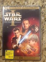 Star Wars Episode I:The Phantom Menace (DVD,2005,2-Disc,Widescreen)NEW Authentic