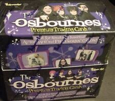 Lot Box Of The Ozzy Osbourne Trading Card black sabbath Sharon Kelly Jack Tv