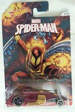 NEW HOT WHEELS SPIDER MAN CARNAGE HAMMERED COUPE 05/08 MOC Marvel.com comics
