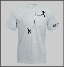 SANCTUARIES EDGE CLIMBERS CLIMB MOUNTAINEERING T SHIRT CLIMBER CLIMBING ROCK