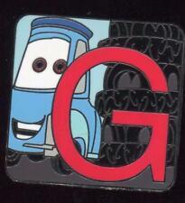 Pixar Alphabet Mystery Collection G Guido Disney Pin 115990