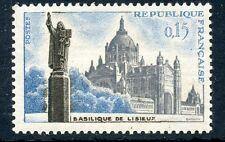 TIMBRE FRANCE NEUF N° 1268 ** BASILIQUE DE LISIEUX