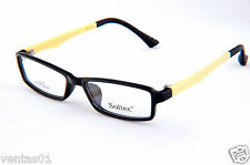 kids eyeglasses frames Full Frame Glasses Black Yellow Color Comfortable & Light