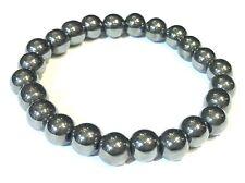 Bracelet Hématite  -  perles rondes 8mm