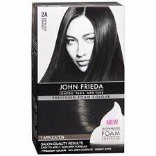 John Frieda Precision Hair Colour Kit Luminous Blue Black [2A] 1 Each (4 pack)