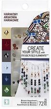 Ek Success Create Your Style with SWAROVSKI Crystal Asst 72pc/Pkg - HARMONY