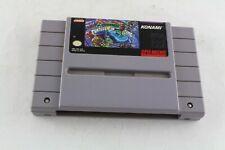 Snes Super Nintendo TMNT IV Turtles in Time  Video Game US NTSC