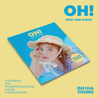 OH HA YOUNG APINK OH! CD+80p Photobook+Photocard+Poster+Tracking no.