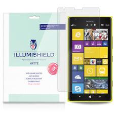 iLLumiShield Matte Screen Protector w Anti-Glare/Print 3x for Nokia Lumia 1520
