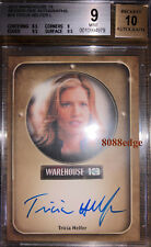 "2010 WAREHOUSE 13 AUTO: TRICIA HELFER - AUTOGRAPH ""CYLON NUMBER SIX"" BGS 9 MINT"