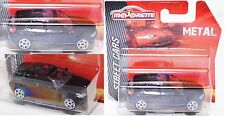 Majorette 212053050 BMW 1er-Reihe schwarz 1:58 Street Cars