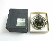 VINTAGE AIRGUIDE MARINE / MOBILE LIQUID FILLED COMPASS WITH BOX MODEL 87A GIMBAL
