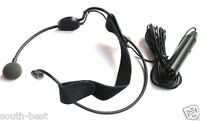 "Professional ME3C Cardioid Mic Headset Headworn Microhone XLR 3Pin 5m 195"" cable"