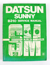 Datsun Sunny B310 series Sept 1978 factory workshop manual
