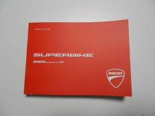 Ducati 1199 Panigale Bedienungsanleitung Handbuch English Owner´s Manuel Buch