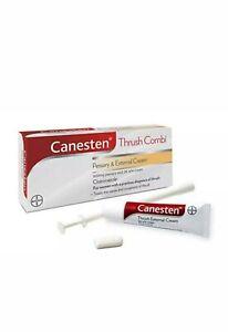 Canesten Thrush Combi Treatment Pessary & 2% Cream - 1 Pack