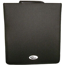 1 X Neo Media 500 Capacity CD DVD Ring Binder Wallet Nylon Storage Carry Case