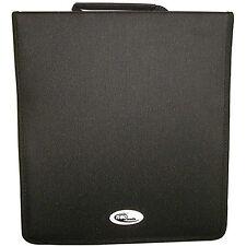 1 x Neo Media 500 capacità CD DVD RACCOGLITORE AD ANELLI WALLET NYLON Storage CARRY CASE