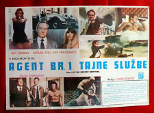 NO.1 OF THE SECRET SERVICE 1977 NICKY HENSON RICHARD TODD EXYU POSTER INSERT