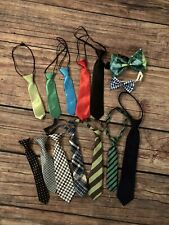 Lot Of Child Toddler Ties Bowties Photography Props Like New
