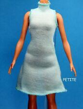 Barbie  Fashionistas Tiffany Blue Green Sleeveless Dress REGULAR PETITE