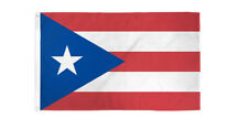 Flag of Puerto Rico Polyester  5ft x 3ft indoor/outdoor new