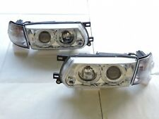 Sentra B13 91-94 FACELIFTED Projector Clear Headlight + Corner Light for NISSAN