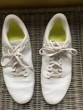 Nike Cheer Sideline IV Cheerleading / Poms Shoes Women's Size 8.5 White