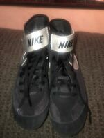 Mens NIKE SPEEDSWEEP 366683-004 Wrestling Shoes MMA Gray Volt Size 7 Worn Twice