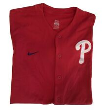 Nike Philadelphia Phillies Jersey Size XL Red MLB