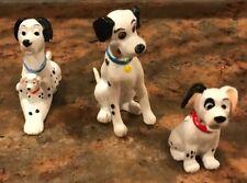 3 Applause PVC Hard Rubber Figure Disney 101 Dalmatian Dalmation Pongo Puppy