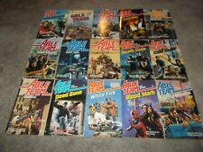 DON PENDLETON~RARE COMPLETE 53 BOOK ABLE TEAM SERIES~DICK STIVERS~ BONUS BOOKS