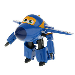 Super Wings Cool LARGE JEROME Robot Transforming Plane Toys Figures Gifts